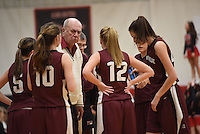 NWA Democrat-Gazette/J.T. WAMPLER  Pea Ridge girls against Huntsville Tuesday Feb. 9, 2016.