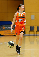 29th November 2019; Bendat Basketball Centre, Perth, Western Australia, Australia; Womens National Basketball League Australia, Perth Lynx versus Southside Flyers; Katie Ebzery of the Perth Lynx dribbles down the court - Editorial Use