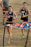 SAN ANTONIO, TX - SEPTEMBER 19, 2014: The UTSA Ricardo Romo Classic Cross Country Meet at the National Shooting Complex. (Photo by Jeff Huehn)