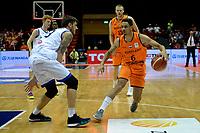 GRONINGEN - Basketbal, Nederland - Italie, WK kwalificatie 2019, Martiniplaza, 01-07-2018 Worthy de Jong