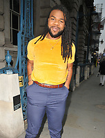 MNEK (Uzoechi Osisioma &quot;Uzo&quot; Emenike) at the ELLE List inaugural annual event to celebrate the next generation of global trailblazers inspiring the ELLE woman in 2018, Somerset House, Lancaster Place, The Strand, London, England, UK, on Monday 04 June 2018.<br /> CAP/CAN<br /> &copy;CAN/Capital Pictures