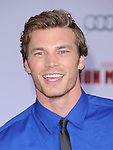 Derek Theler at The World Premiere of Marvel's Iron Man 3 held at The El CapitanTheatre in Hollywood, California on April 24,2013                                                                   Copyright 2013 Hollywood Press Agency
