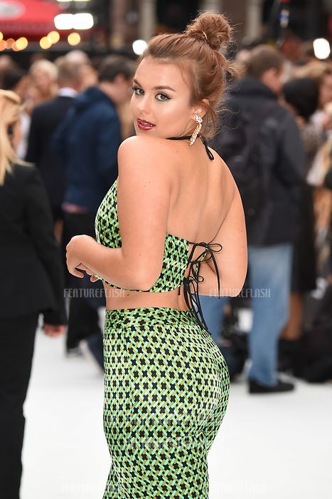 "LONDON, UK. September 12, 2018: Tallia Storm at the World Premiere of ""King of Thieves"" at the Vue Cinema, Leicester Square, London.<br /> Picture: Steve Vas/Featureflash"