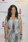 Lindsay Mendez at the 27th Annual Broadway Flea Market & Grand Auction to benefit Broadway Cares/Equity Fights Aids in Shubert Alley, New York City, New York.  (Photo by Sue Coflin/Max Photos)