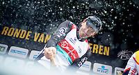 Ronde van Vlaanderen 2013..champagne podium shower