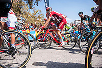 Castellon, SPAIN - SEPTEMBER 7: Sven Erik Bystrøm during LA Vuelta 2016 on September 7, 2016 in Castellon, Spain