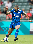 Leicester City FC forward Islam Slimani in action during the Premier League Asia Trophy match between Leicester City FC and West Bromwich Albion at Hong Kong Stadium on 19 July 2017, in Hong Kong, China. Photo by Yu Chun Christopher Wong / Power Sport Images