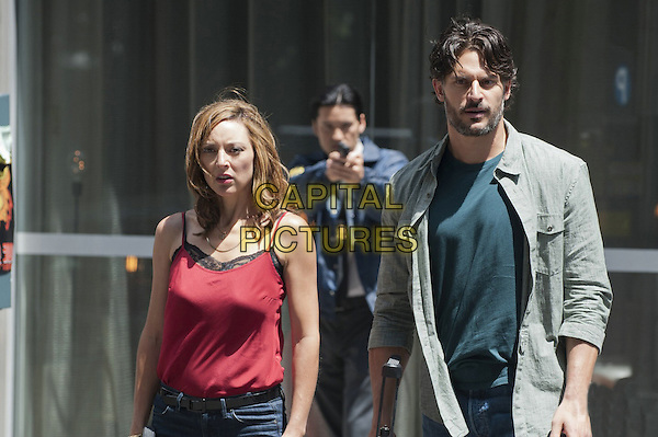 LOLA GLAUDINI, JOE MANGANIELLO.in White Collar (Season 3).*Filmstill - Editorial Use Only*.CAP/FB.Supplied by Capital Pictures.