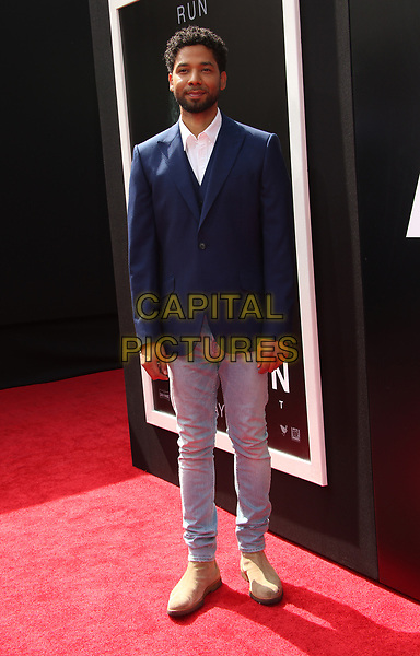 17 May 2017 - Hollywood, California - Jussie Smollett. Sir Ridley Scott Hand And Footprint Ceremony. <br /> CAP/ADM<br /> &copy;ADM/Capital Pictures