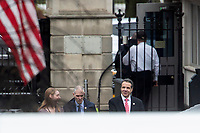 New York State Governor Andrew Cuomo Arrives to the White House