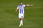Real Sociedad's Raul Navas during La Liga match. April 4,2017. (ALTERPHOTOS/Acero)