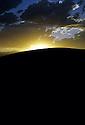 Sunset Over Hill