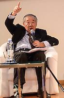 SAO PAULO, 04 DE ABRIL DE 2013 - RUMOS DA COMPETITIVIDADE - O economista Yoshiaki Nakano durante Seminário Rumos da Competitividade - A Indústria de Máquinas e Equipamentos no Auditório da Abimaq (Associação Brasileira de Máquinas e Equipamentos), região sul da capital, na tarde desta quinta feira, 04. (FOTO: ALEXANDRE MOREIRA / BRAZIL PHOTO PRESS)