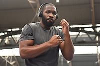 Bryant Jennings during a Public Workout at Old Spitalfields Market on 9th July 2019