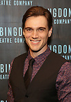 Justin Sargent attends the Abingdon Theatre Company Gala honoring Donna Murphy on October 22, 2018 at the Edison Ballroom in New York City.