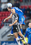 St Johnstone v St Mirren....22.01.11  .Jim Goodwin and Murray Davidson.Picture by Graeme Hart..Copyright Perthshire Picture Agency.Tel: 01738 623350  Mobile: 07990 594431