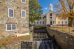 Slater Mill Historic Site in Pawtucket, Rhode Island, USA