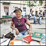 """Cosima, """"La mia vita è cambiata"""", libro vivente della Biblioteca vivente di Barriera."""