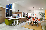 Contemporary Kitchen in Darien by SU11 Architects