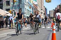 NOVA YORK, EUA, 10.08.2019 - CLIMA-EUA - Movimentação durante o Summer Streets na Ilha de Manhattan na cidade de Nova York nos Estados Unidos neste sábado, 10. (Foto: Vanessa Carvalho//Brazil Photo Press)