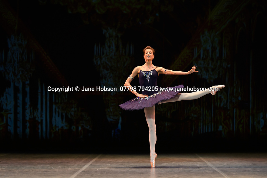 "Ekaterina Kondaurova rehearses ""Grand Pas Classique"", for the Ballet Icons Gala 2020, at the London Coliseum."