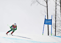 DH training / Mitch Gourley<br /> PyeongChang 2018 Paralympic Games<br /> Australian Paralympic Committee<br /> PyeongChang South Korea<br /> Wednesday March 7th 2018<br /> &copy; Sport the library / Jeff Crow
