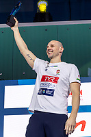 10 HUN VARGA Denes Andor Hungary Most Valuable Player<br /> Budapest 26/01/2020 Duna Arena <br /> Men Medal Ceremony<br /> XXXIV LEN European Water Polo Championships 2020<br /> Photo  ©Giorgio Scala / Deepbluemedia / Insidefoto