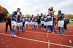 2015-10-25 / Voetbal / Seizoen 2015-2016 / FC Turnhout - KV Vosselaar / FC Turnhout viert de 3-1 overwinning tegen de buren uit Vosselaar. <br /><br />Foto: Mpics.be