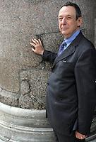 Il musicologo Gioacchino Lanza Tomasi di Mazzarino ritratto a Roma, 22 maggio 2008..Italian musicologist Gioacchino Lanza Tomasi di Mazzarino portrayed in Rome, 22 may 2008..UPDATE IMAGES PRESS/Riccardo De Luca