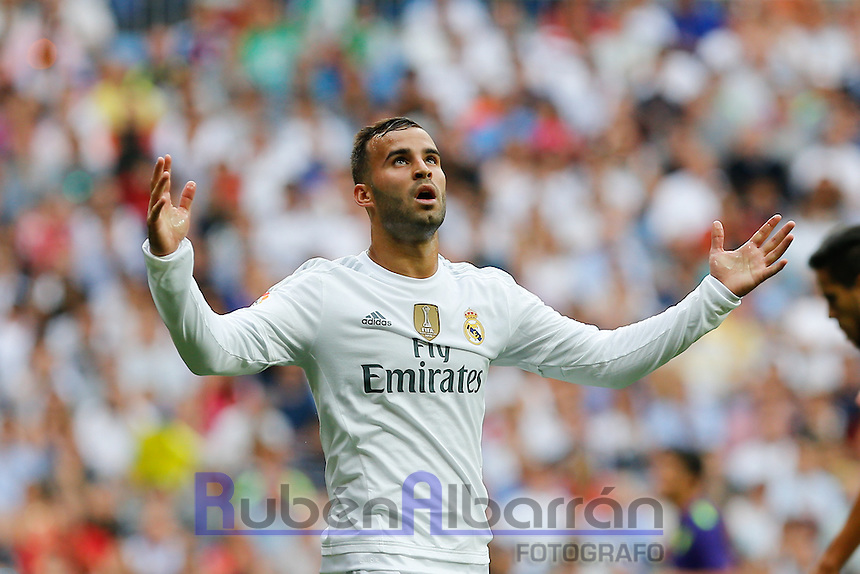Real Madrid´s Spanish forward Jesé Rodriguez lamenting