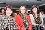 At the Intermediate School Killorglin Fashion Show on Thursday night<br /> L-R Gina Foley & Nuala Johnston from Killorglin with Rosemary Griffin from Glenbeigh.