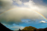 Rainbow Over Sheep Lakes