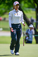 Pornanong Phatlum (THA) departs the green after sinking her putt on 10 during round 1 of  the Volunteers of America Texas Shootout Presented by JTBC, at the Las Colinas Country Club in Irving, Texas, USA. 4/27/2017.<br /> Picture: Golffile | Ken Murray<br /> <br /> <br /> All photo usage must carry mandatory copyright credit (&copy; Golffile | Ken Murray)