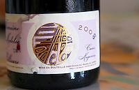 Cuvee magence. Domaine Madeloc, Banyuls sur Mer. Roussillon. France. Europe. Bottle.