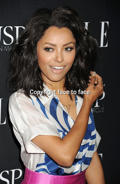 HOLLYWOOD, CA- APRIL 22: Actress Kat Graham arrives at ELLE's 5th Annual Women In Music concert celebration at Avalon on April 22, 2014 in Hollywood, California.<br />