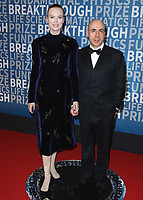 MOUNTAIN VIEW, CA - DECEMBER 3: Yuri Milner and Julia Milner at the 6th Annual Breakthrough Prize at NASA Ames Research Center on December 3, 2017 in Mountain View, California. (Photo by Scott Kirkland/NatGeo/PictureGroup)