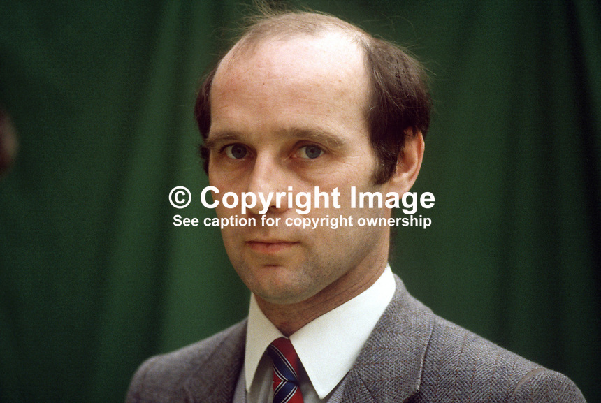 Tom Gillen, official, ICTU, Irish Congress of Trade Unionis, Ireland, 19840050TG1..Copyright Image from Victor Patterson, 54 Dorchester Park, Belfast, UK, BT9 6RJ..Tel: +44 28 9066 1296.Mob: +44 7802 353836.Voicemail +44 20 8816 7153.Skype: victorpattersonbelfast.Email: victorpatterson@me.com.Email: victorpatterson@ireland.com (back-up)..IMPORTANT: If you wish to use this image or any other of my images please go to www.victorpatterson.com and click on the Terms & Conditions. Then contact me by email or phone with the reference number(s) of the image(s) concerned.