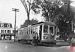 The last of the Woodbury line photographed here at Canfield Corner in Woodbury in October of 1930.