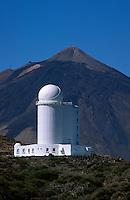 Spanien, Kanarische Inseln, Teneriffa, Teide-Park, Observatorio Izaña (Izana), Teide, Unesco-Weltkulturerbe