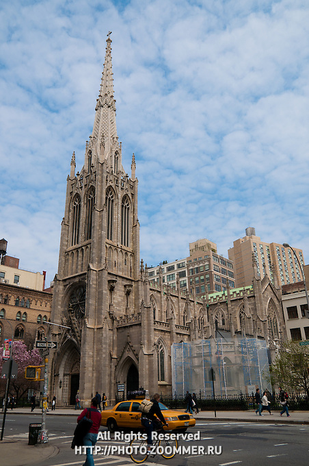 Grace Episcopal Church in Manhattan, New York
