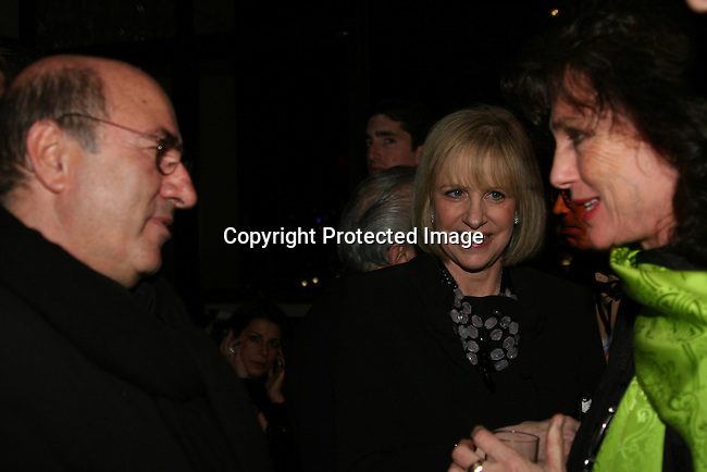 Dante Ferretti &amp; Jacqueline Bisset (right)<br />