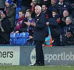 Crystal Palace's Alan Pardew looks on dejected<br /> <br /> Barclays Premier League - Crystal Palace  vs Arsenal  - Selhurst Park - England - 21st February 2015 - Picture David Klein/Sportimage