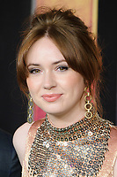 Karen Gillan<br /> arriving for the &quot;Jumanji: Welcome to the Jungle&quot; premiere at the Vue West End, Leicester Square, London<br /> <br /> <br /> &copy;Ash Knotek  D3358  07/12/2017
