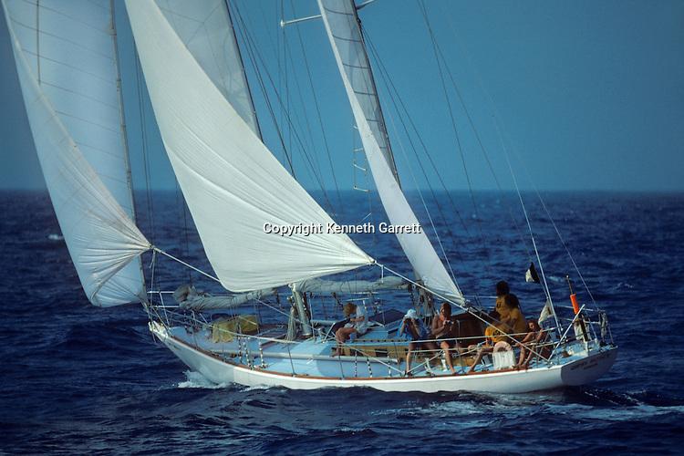 Sloop, Gipsy Moth V; Sail race, Operation Sail Tall Ships; Sail Training Association; US Bicentennial; Atlantic Ocean; adventure; STA, 1976, Seamanship, cadet training
