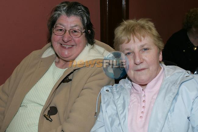 Ardee Bingo Margaret McGorrin Margaret Wynne.Photo: Fran Caffrey/ Newsfile.