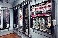 Wire Storage Room With Lighting Panels