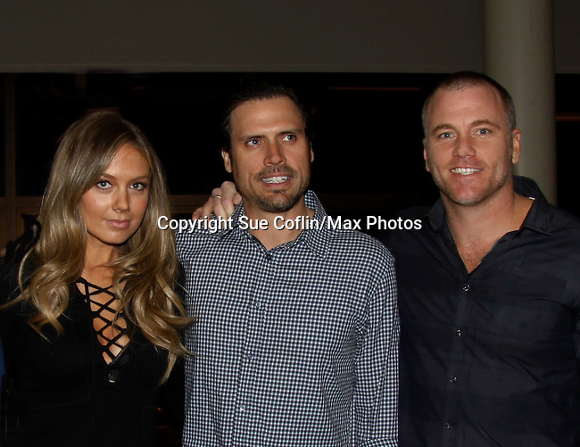 Melissa Ordway & Joshua Morrow & Sean Carrigan - The Young and The Restless - Genoa City Live celebrating over 40 years with on February 27. 2016 at The Lyric Opera House, Baltimore, Maryland on stage with questions and answers followed with autographs and photos in the theater.  (Photo by Sue Coflin/Max Photos)