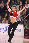 08.12.2013 Actuacio cheerleaders del Basquet Manresa al Nou Congost durant el partit entre bruxia d'or contra el Gipuzkoa