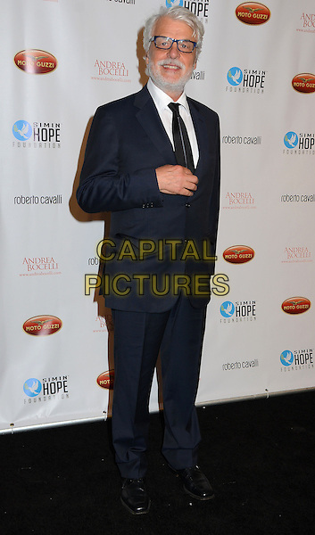 Michele Placido<br /> Simin Hope Foundation presents &quot;A Celebration of All Fathers? Gala with a special appearance by Andrea Bocelli at Paramount Studios in Hollywood,  Santa Monica, CA, USA, 2nd June 2013.<br /> full length navy blue suit tie glasses <br /> CAP/ADM/BT<br /> &copy;Birdie Thompson/AdMedia/Capital Pictures