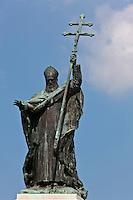 Europe/France/Aquitaine/64/Pyrénées-Atlantiques/Pays-Basque/Bayonne: Statue du Cardinal Charles Martial Lavigerie place du réduit